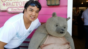Lam and  a Bear